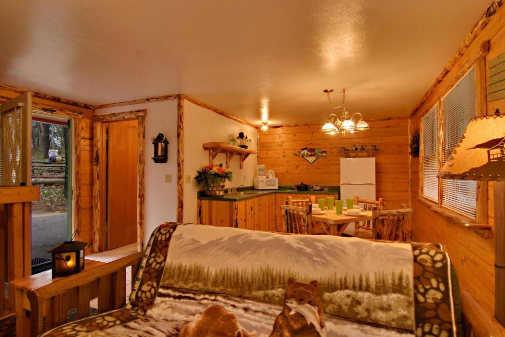 The Mountaineer Cabin at Meadowbrook Resort & DellsPackages.com in Wisconsin Dells